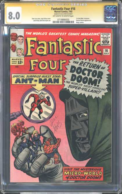 CGC Graded Comics - Fantastic Four #16 (CGC)