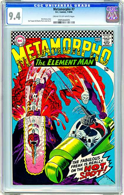 CGC Graded Comics - Metamorpho #7 (CGC)