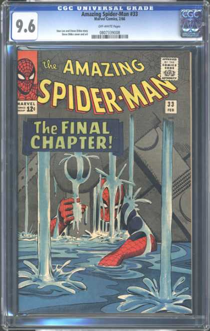 CGC Graded Comics - Amazing Spider-Man #33 (CGC)