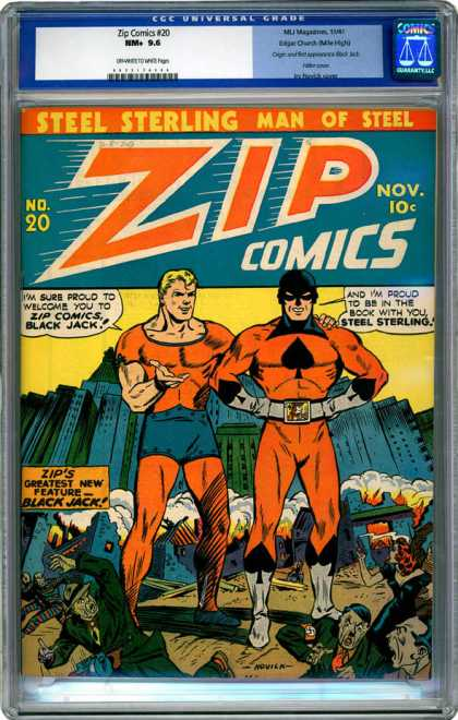 CGC Graded Comics - Zip Comics #20 (CGC)