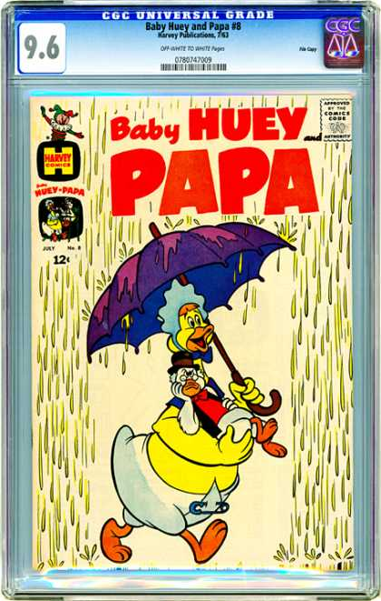 CGC Graded Comics - Baby Huey and Papa #8 (CGC)
