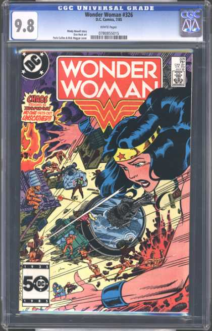 CGC Graded Comics - Wonder Woman #326 (CGC)