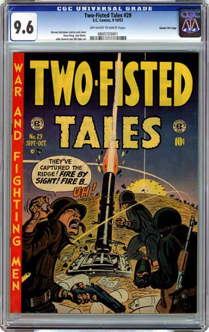 CGC Graded Comics - Two-Fisted Tales #29 (CGC)