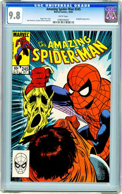 CGC Graded Comics - Amazing Spider-Man #245 (CGC)
