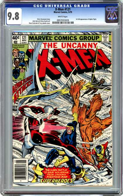 CGC Graded Comics - X-Men #121 (CGC)