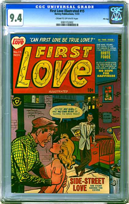 CGC Graded Comics - First Love Illustrated #15 (CGC)