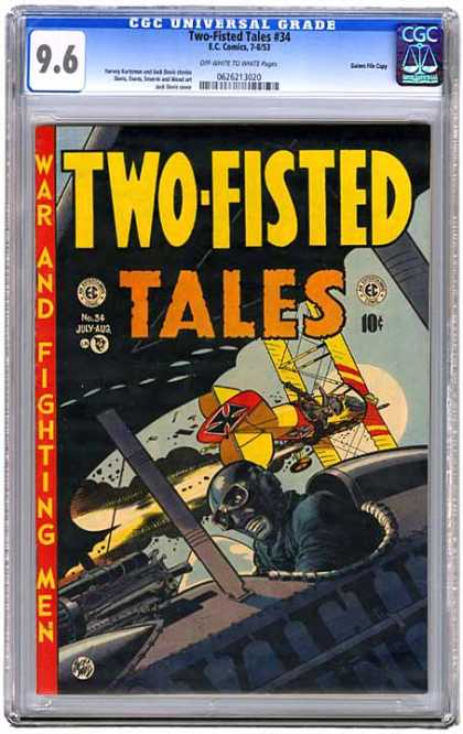 CGC Graded Comics - Two-Fisted Tales #34 (CGC)