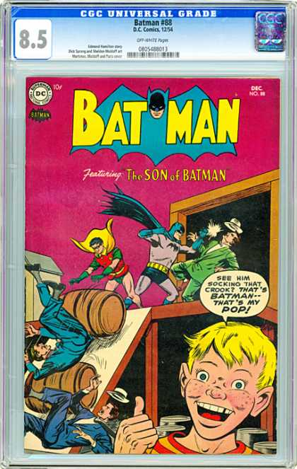 CGC Graded Comics - Batman #88 (CGC)