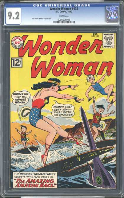 CGC Graded Comics - Wonder Woman #133 (CGC)