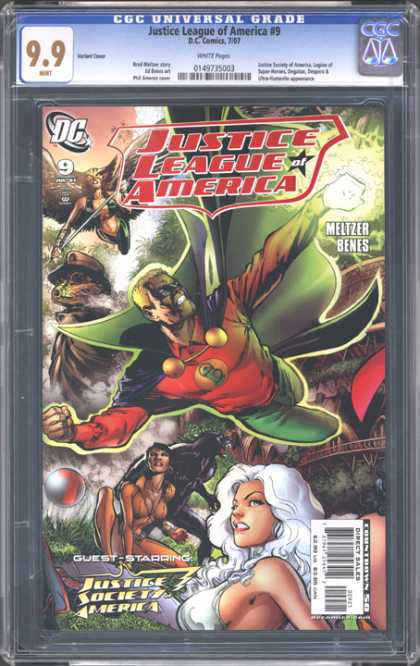 CGC Graded Comics - Justice League of America #9 (CGC)