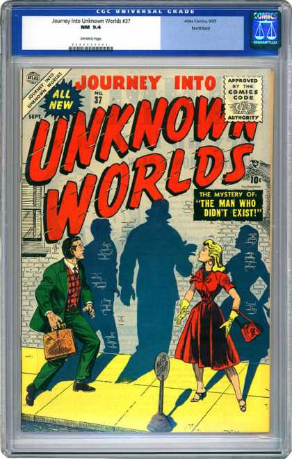 CGC Graded Comics - Journey Into Unknown Worlds #37 (CGC)