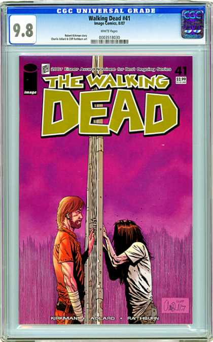 CGC Graded Comics - Walking Dead #41 (CGC)