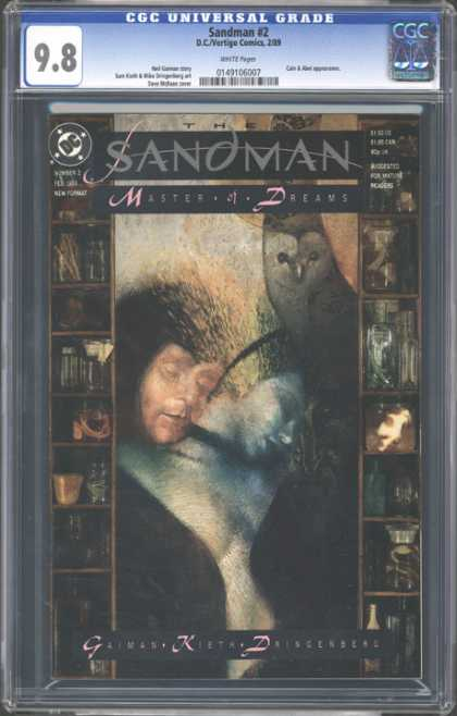 CGC Graded Comics - Sandman #2 (CGC) - Sandman - Master Of Dreams - Man - Owl - Woman