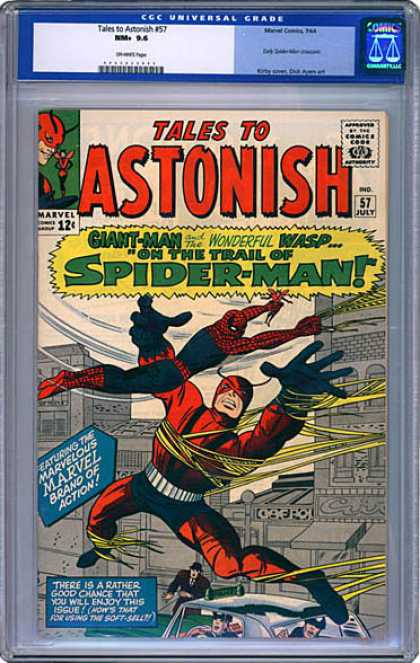 CGC Graded Comics - Tales to Astonish #57 (CGC)