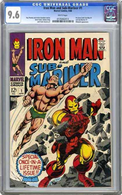 CGC Graded Comics - Iron Man and Sub-Mariner #1 (CGC)