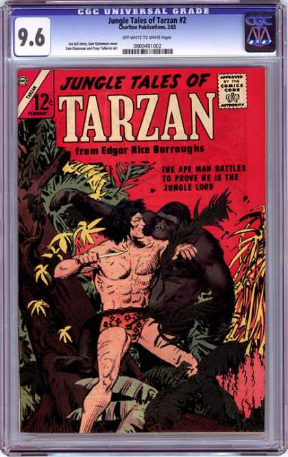 CGC Graded Comics - Jungle Tales of Tarzan #2 (CGC)