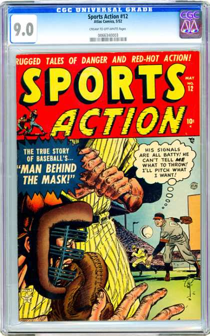CGC Graded Comics - Sports Action #12 (CGC)