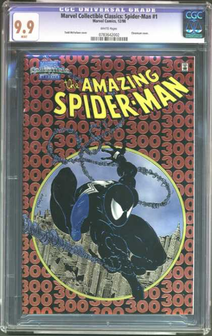 CGC Graded Comics - Marvel Collectible Classics: Spider-Man #1 (CGC)