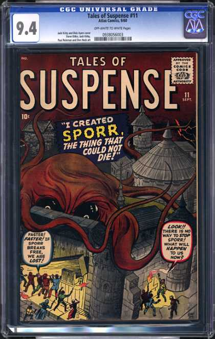 CGC Graded Comics - Tales of Suspense #11 (CGC)