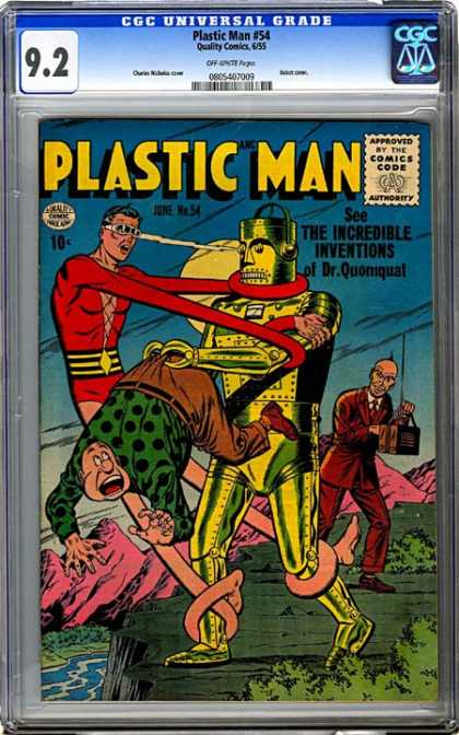 CGC Graded Comics - Plastic Man #54 (CGC)