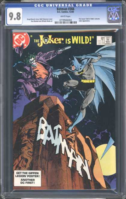 CGC Graded Comics - Batman #366 (CGC)