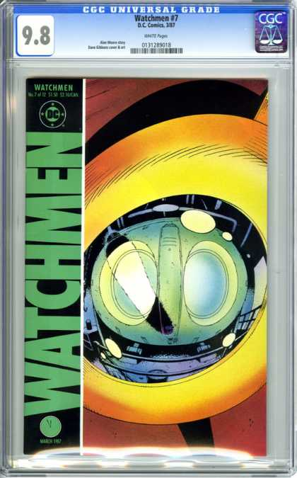 CGC Graded Comics - Watchmen #7 (CGC)