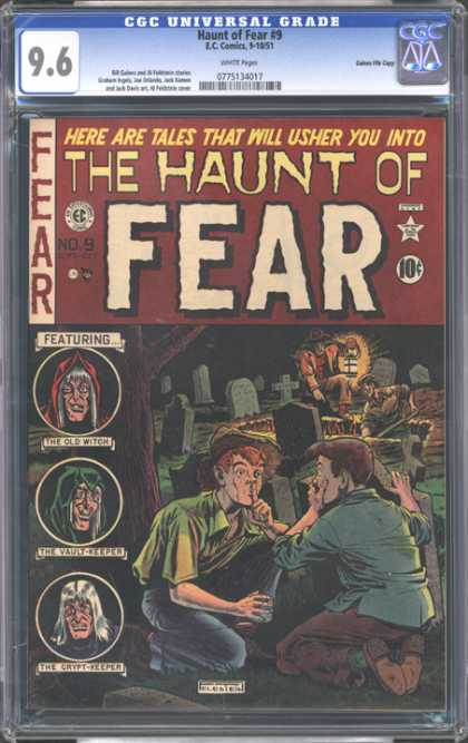 CGC Graded Comics - Haunt of Fear #9 (CGC)