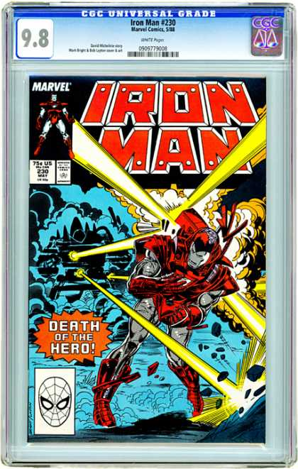 CGC Graded Comics - Iron Man #230 (CGC)