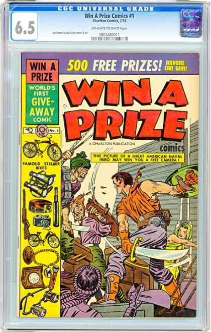CGC Graded Comics - Win A Prize Comics #1 (CGC)