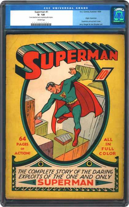 CGC Graded Comics - Superman #1 (CGC)