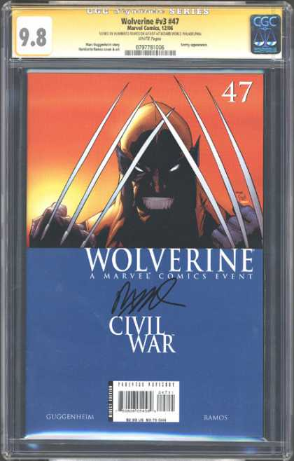 CGC Graded Comics - Wolverine #v3 #47 (CGC)