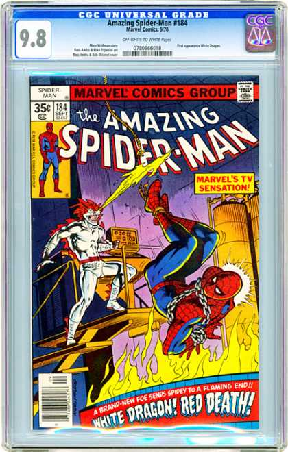 CGC Graded Comics - Amazing Spider-Man #184 (CGC)