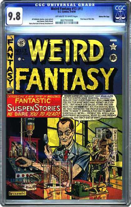 CGC Graded Comics - Weird Fantasy #13 (#1) (CGC)