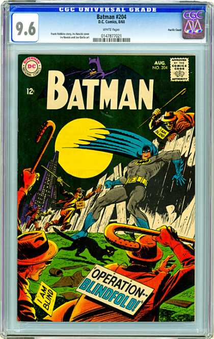 CGC Graded Comics - Batman #204 (CGC)