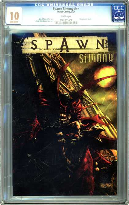 CGC Graded Comics - Spawn Simony #nn (CGC) - Spawn - Simony - Planet - Darkness - Creature