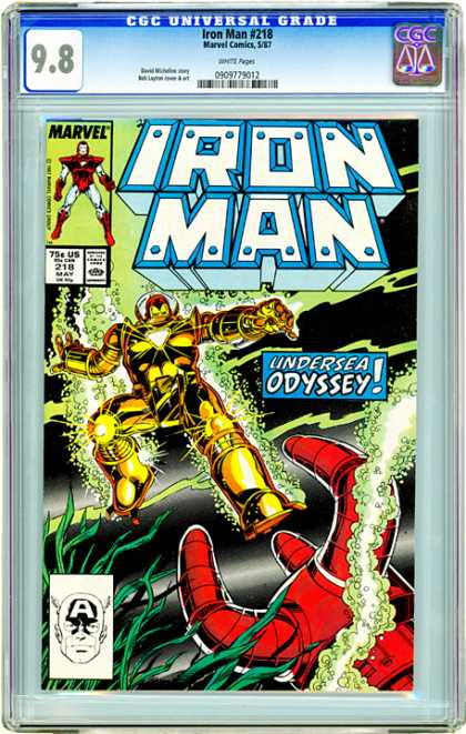 CGC Graded Comics - Iron Man #218 (CGC)