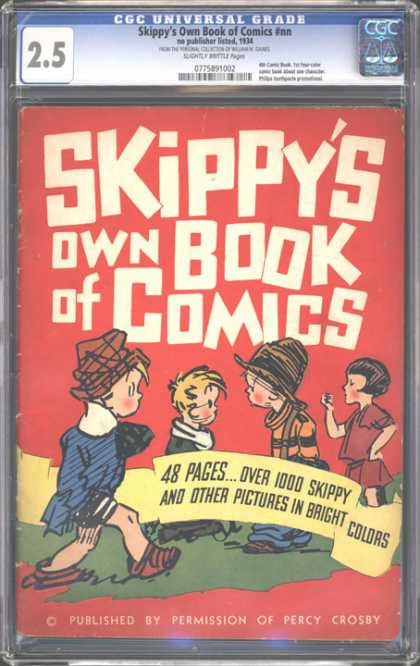 CGC Graded Comics - Skippy's Own Book of Comics #nn (CGC)