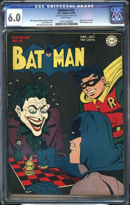 CGC Graded Comics - Batman #23 (CGC)