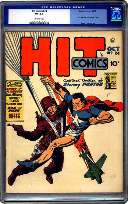 CGC Graded Comics - Hit Comics #24 (CGC)