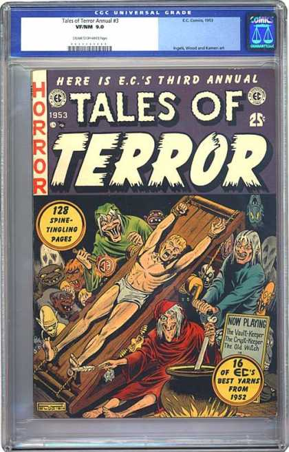 CGC Graded Comics - Tales of Terror Annual #3 (CGC)