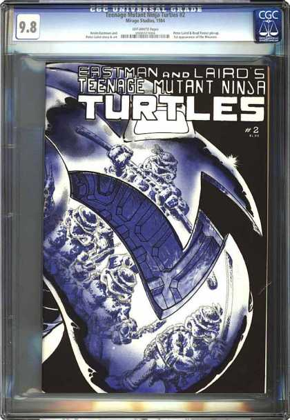 CGC Graded Comics - Teenage Mutant Ninja Turtles #2 (CGC)