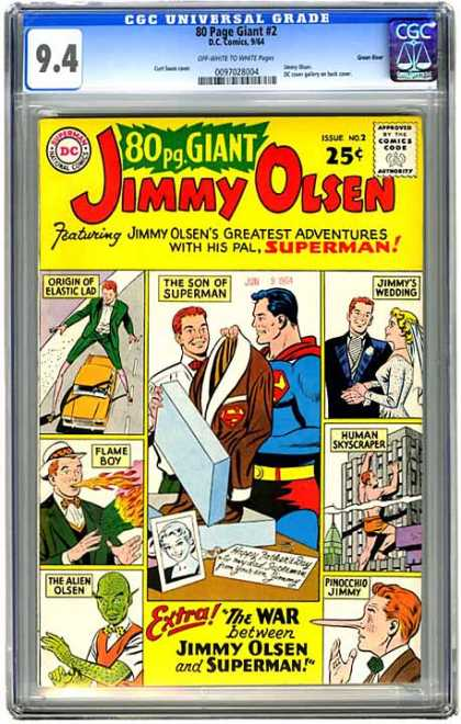 CGC Graded Comics - 80 Page Giant #2 (CGC)