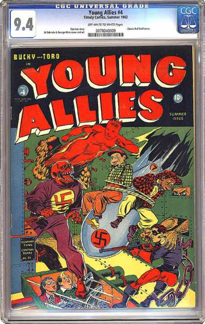 CGC Graded Comics - Young Allies #4 (CGC)