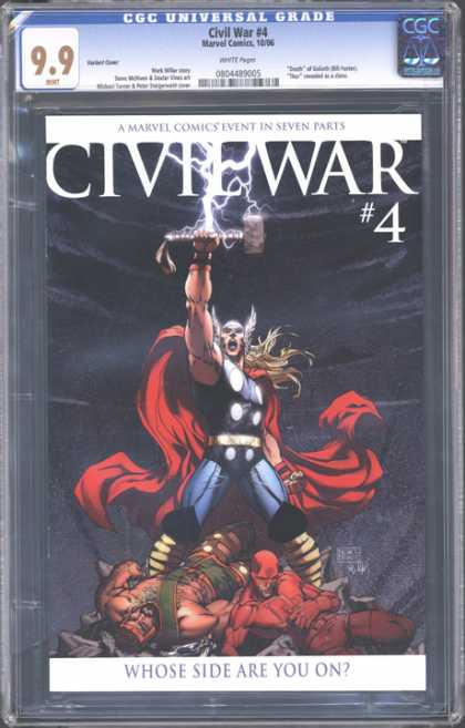CGC Graded Comics - Civil War #4 (CGC)