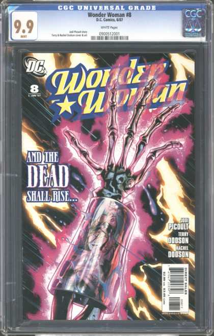 CGC Graded Comics - Wonder Woman #8 (CGC)
