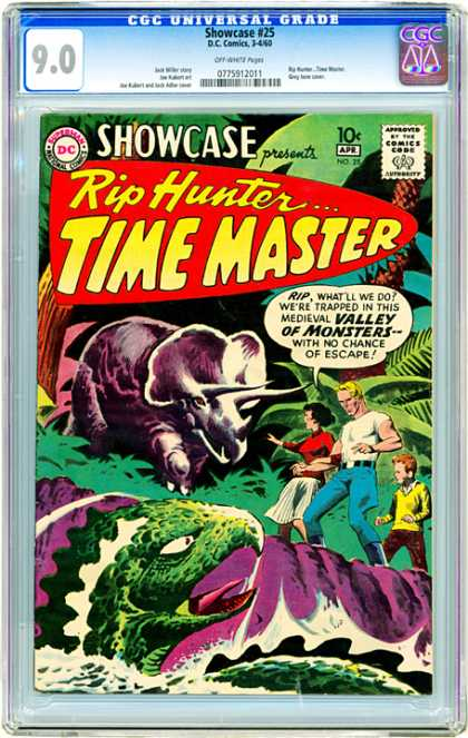 CGC Graded Comics - Showcase #25 (CGC)