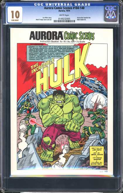 CGC Graded Comics - Aurora Comic Scenes #184-140 (CGC)