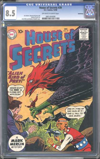 CGC Graded Comics - House of Secrets #39 (CGC)