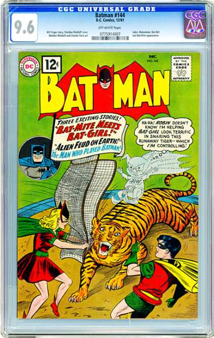 CGC Graded Comics - Batman #144 (CGC)