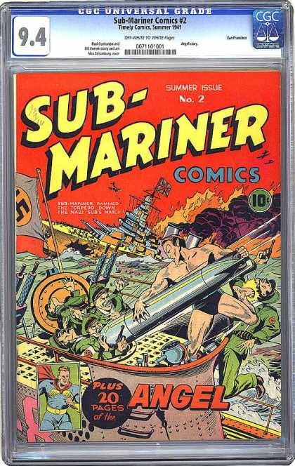 CGC Graded Comics - Sub-Mariner Comics #2 (CGC)